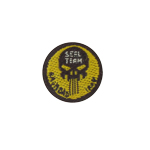 Punisher Seal Team Patch (Yellow)