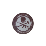 Barrett Rect Wrecking Crew Patch (Brown)
