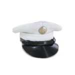 Enlisted Dress Cover Cap (White)