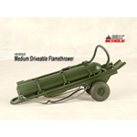 Medium Driveable Flame Thrower (OD Green)