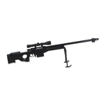 Diecast Accuracy International L115A1 Sniper Rifle (Black)