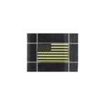 Low visibility US Flag patch