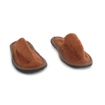 Suede Slippers (Brown)