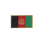 Afghanistan Flag Patch (Red)