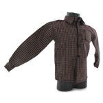 Check Shirt (Brown)