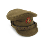 British officer trench hat The King's royal rifle corps