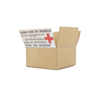 American Red Cross box