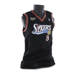 Sixers Iverson Basketball Shirt (Black)