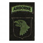 Screaming Eagle 101st Patch (Olive Drab)