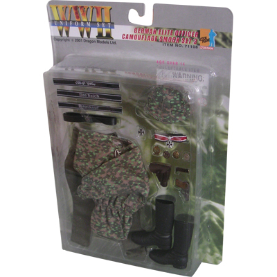 german elite officer camo smock set 3