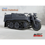 Kettenkrad with trailer (Panzer grey version)
