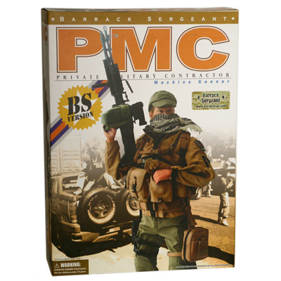 pmc private military contractor machine gunner
