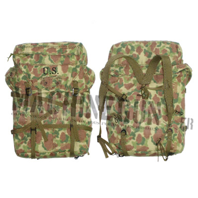Back pack duck hunter camo