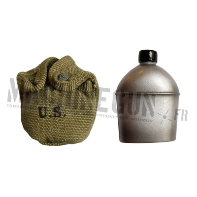 US M1910 canteen w/ cover