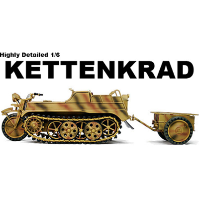 kettenkrad 3 color camouflage