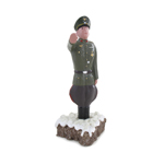 Piece Of Cake with Statue (Olive Drab)