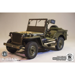 Diecast Jeep Willys MB (Olive Drab)