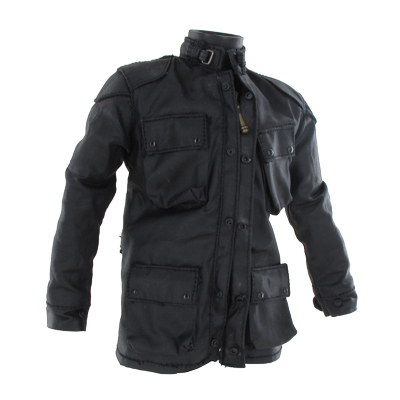 Barbour Style Jacket (Black)