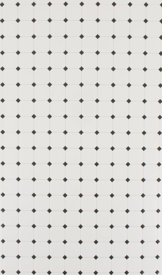 wall tile white with black rhombus 29cmx18cm machinegun