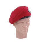 French Metropolitan Paratrooper Beret (Red)