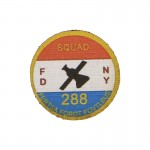 FDNY Squad 288 Patch (White)