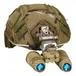 Fast Maritime Cut Helmet with AN/PVS-15 NVG (Multicam)
