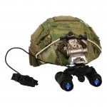 Fast Maritime Cut Helmet with PVS-31 NVG (Multicam)