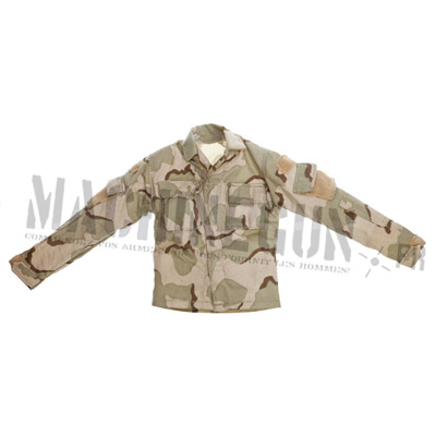 3-color desert BDU vest