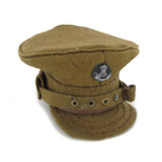 British officer trench hat Durham light infantry