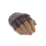Gloved Mittens Right Hand (Brown)