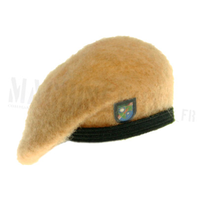 light brown ranger tan beret