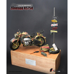 Diecast Motorcycle Zundapp KS750 (3 Colors Camo)