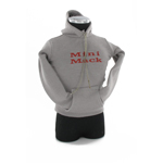 Women grey sweatshirt Mini Mack