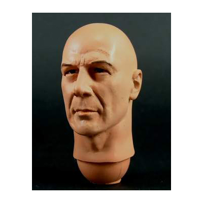 Bruce Willis Head shaved