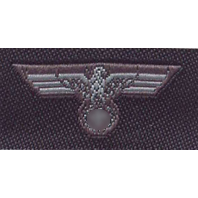 Wehrmacht breast and cap eagle - White on field grey ground