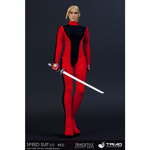Speed Suit 2.0 (Red) Female Outfit Set
