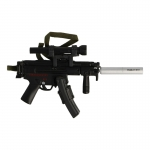 Diecast HK MP5 Submachinegun (Black)