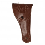 Leather Colt 45 Holster (Brown)