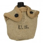M10 Canteen with Cup and Pouch (Beige)