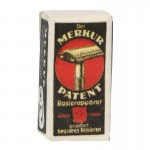 Merkur Patent Slant Bakelit Safety Razor Box (Black)