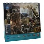 DID Corp Lifesize 2020 Calendar (Blue)