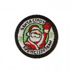 Santa Claus Protection Team Patch (Red)