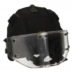 ZSH-1-2 Helmet with Cover (Black)