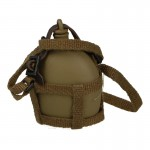 Diecast Canteen with Harness (Olive Drab)