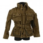Worn M42 Reinforced Jump Jacket (Coyote)