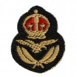 Per Ardua Ad Astra Royal Air Force Patch (Gold)