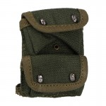 USMC Double Pocket Grenades Pouch (Olive Drab)