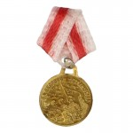 Diecast Red Army For The Defence Of Stalingrad Medal (Gold)