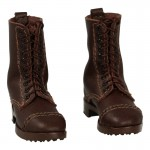Leather M1905 Marching Boots (Brown)
