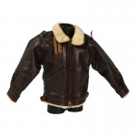 Leather B3 Flying Jacket (Brown)
